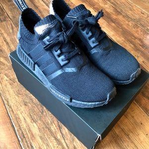 Adidas NMD R1 Primeknit Japan Triple Black Size 8